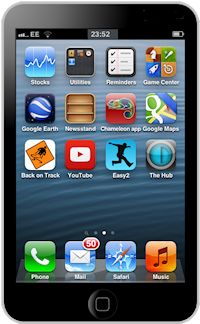 image of web app icon on iPhone