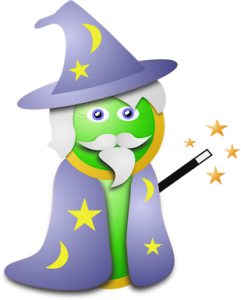 image of Wizard caricature created by Big Media House graphic design team